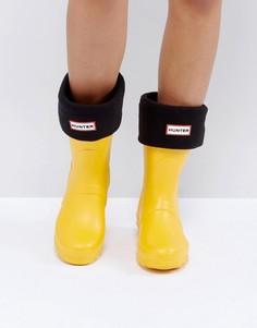 Черные толстые носки Hunter Original - Черный