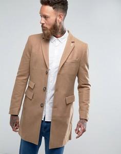 Однотонное пальто Farah Askern - Рыжий