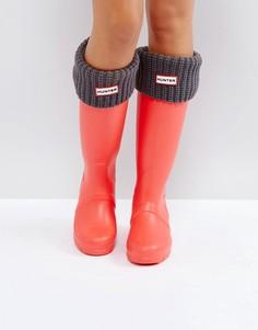 Серые толстые носки Hunter - Серый