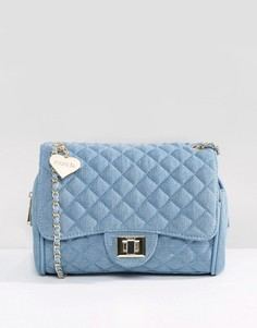 Джинсовая сумка на плечо Marc B - Синий