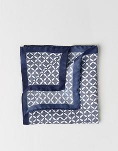 Платок для нагрудного кармана с цветочным принтом Ted Baker - Темно-синий