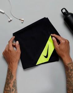 Черное охлаждающее полотенце Nike Training TT.D1-023 - Черный