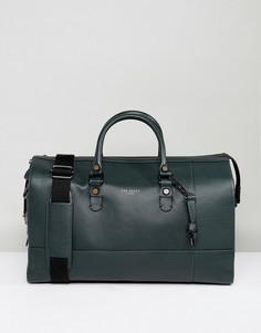Кожаная сумка Ted Baker Panthea - Зеленый