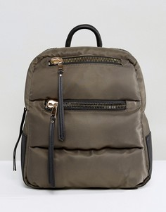 Уплотненный рюкзак New Look - Зеленый