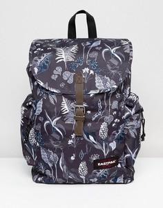 Рюкзак с принтом папоротника Eastpak Austin - Черный