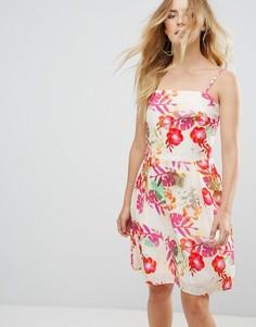 Платье с цветочным принтом Lavand - Мульти