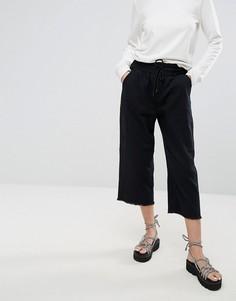 Укороченный джинсовые джоггеры Cheap Monday - Черный