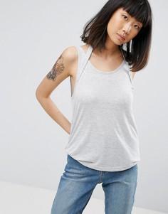 Майка с глубоким вырезом на спине Cheap Monday - Серый