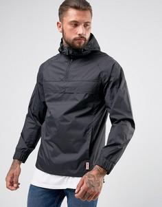 Черная легкая куртка на молнии Hunter - Черный