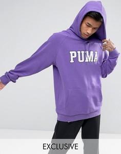 Фиолетовый худи с большим логотипом Puma эксклюзивно для ASOS - Фиолетовый