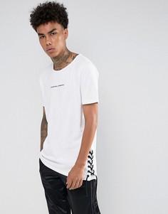 Белая футболка с кружевными вставками Criminal Damage - Белый