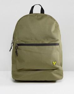 Рюкзак цвета хаки с логотипом Lyle & Scott - Зеленый