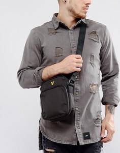 Черная сумка для авиаперелетов с логотипом Lyle & Scott - Черный