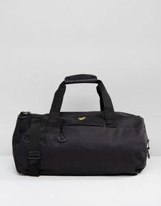 Черная спортивная сумка Lyle & Scott - Черный