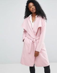 Длинный тренч JDY - Розовый