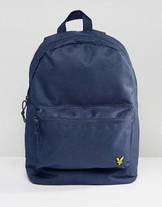 Темно-синий рюкзак с логотипом Lyle & Scott - Темно-синий