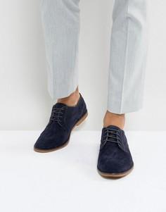 Темно-синие дезерты Burton Menswear - Темно-синий