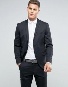 Узкий пиджак Selected Homme - Серый