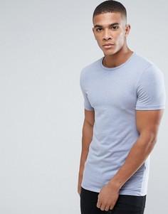 Облегающая футболка Burton Menswear - Синий