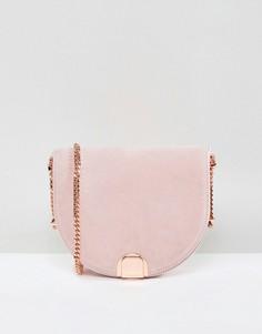 Маленькая замшевая сумка Ted Baker - Розовый