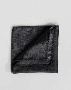 Черный платок для нагрудного кармана Jack & Jones - Черный