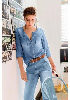Джинсовая блузка Aniston