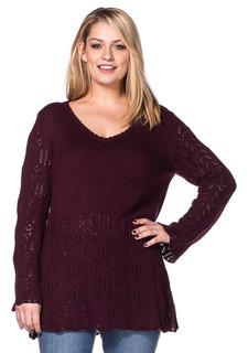 Пуловер sheego