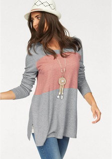 Удлиненный пуловер BOYSENS