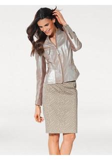 Моделирующая кожаная куртка Ashley Brooke