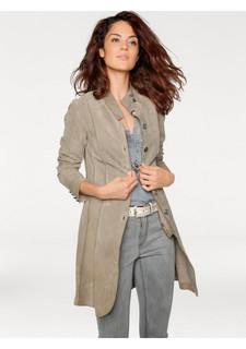 Кожаное пальто Linea Tesini