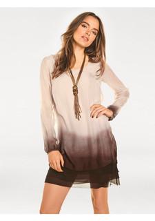 Шелковое платье Rick Cardona