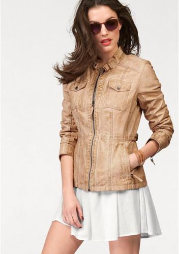Кожаная куртка Aniston