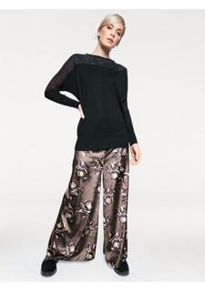 Бархатная юбка-брюки Rick Cardona