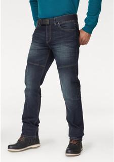 Комплект: джинсы + ремень MANS WORLD