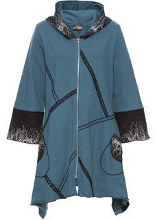 Трикотажная куртка (синий с рисунком) Bonprix