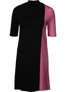 Платье (черный/земляничный) Bonprix