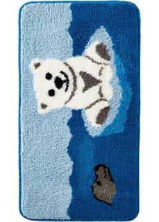 Коврик для ванной Фрости (синий) Bonprix