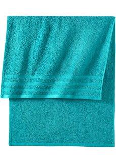 Полотенце Лина (сине-зеленый) Bonprix