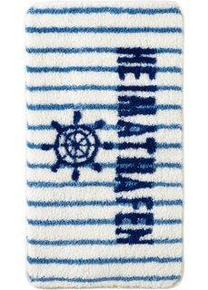 Коврик для ванной Родной порт (синий) Bonprix