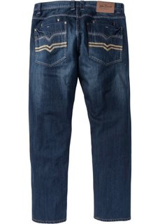 Джинсы Regular Fit Straight, cредний рост (N) (темно-синий) Bonprix