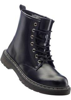 Лакированные ботинки (черный) Bonprix