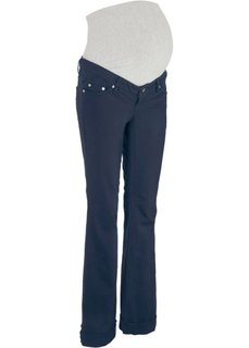 Для будущих мам: свободные брюки с поясом для животика (темно-синий) Bonprix