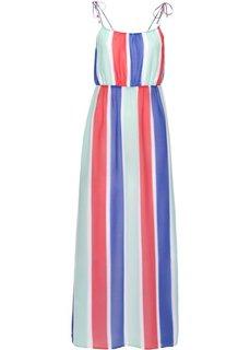 Пляжное платье (белый/синий/красный) Bonprix