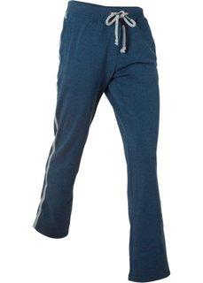 Спортивные брюки с вышивкой (темно-синий меланж) Bonprix