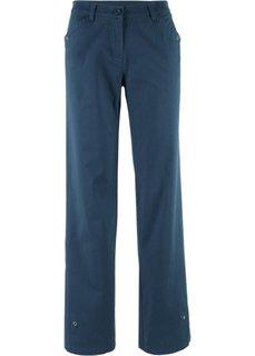 Стрейчевые брюки (темно-синий) Bonprix