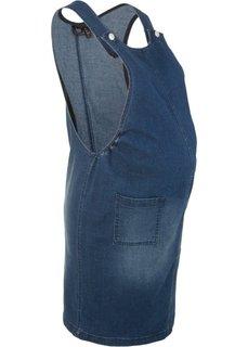 Для будущих мам: джинсовый сарафан (темно-синий «потертый») Bonprix