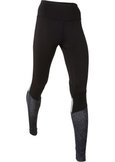 Длинные брюки для бега (черный) Bonprix
