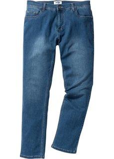 Прямые стрейчевые джинсы из переработанного материала, cредний рост (N) (синий) Bonprix