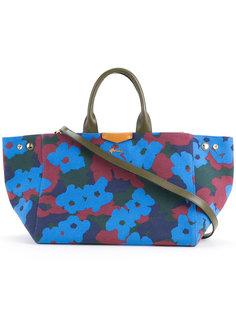 сумка-тоут с цветочным узором Muveil