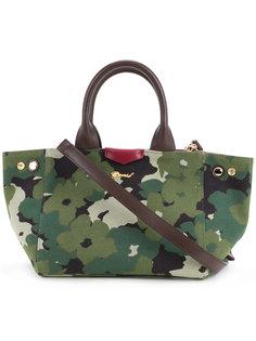 камуфляжная сумка-тоут с цветами Muveil